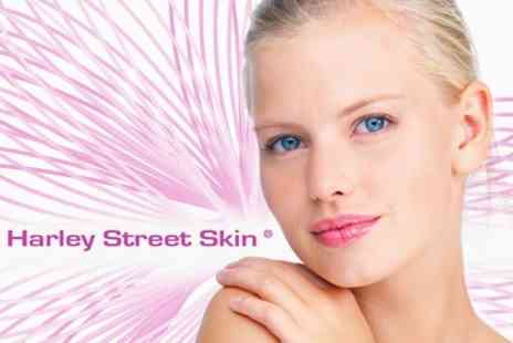 Harley Street Skin Clinic - Complete Skin Care Package with Microdermabrasion, Facial Peels, Full Skin Care Pack, and More - Save 62%