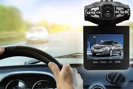 Graboom - HD Car Accident Dash Cam with Night Vision - Save 0%