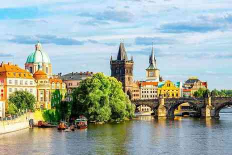 Cheap Cost Holidays - Two or Three night 4 Star Prague escape including flights - Save 35%