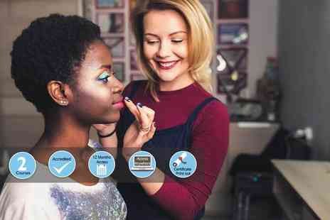International Open Academy - Online make up artists and nail technician courses - Save 89%
