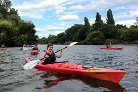 Back of Beyond Adventures - Kayak or Canoe Trip along River Thames for Two - Save 39%