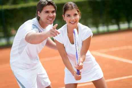 Tennis FIT - One or Five Tennis Lessons - Save 65%