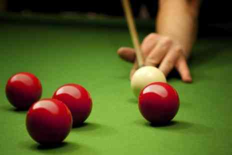 Maidstone Snooker Club - One Year Membership for One or Two - Save 0%