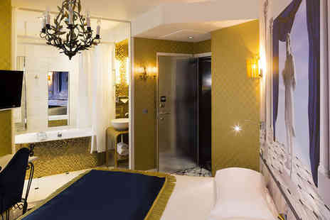 Vice Versa - Four Star Striking Boutique 15 Minutes from The Eiffel Tower For Two - Save 76%
