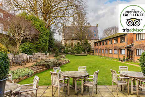 Winchester Royal Hotel - One or Two Night Stay For Two With Breakfast and Optional Dinner - Save 38%
