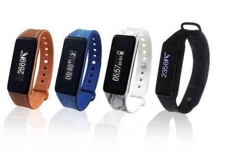The Box - Archon fitness tracker choose from four designs - Save 24%
