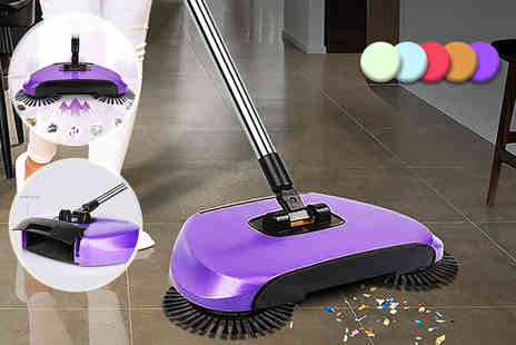 Groundlevel - Wide mouth whirlwind sweeper, with a limited number available - Save 70%