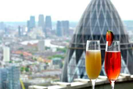Vertigo 42 - Panoramic Views, Champagne Cocktails and Sharing Platter for Two or Four - Save 47%