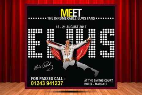 Double M Events - Elvis Weekender Day Pass for One or Two on 18 to 20 August - Save 40%