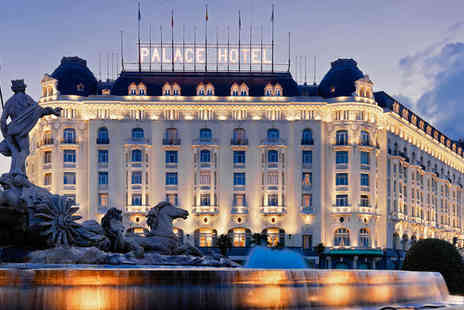 Westin Palace Madrid - Five Star Glamorous Property in the Art Triangle For Two - Save 68%