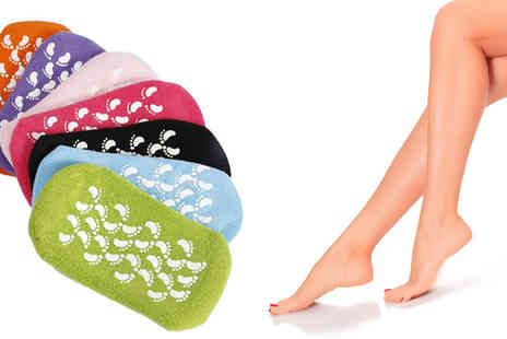 Hawt Online - Moisturising Gel Socks Available in 7 Colours - Save 47%