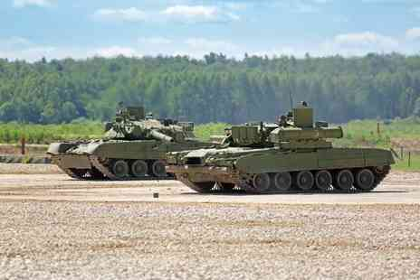 Red Letter Days - 90 minute tank driving experience including 25 minutes of tank driving time - Save 0%
