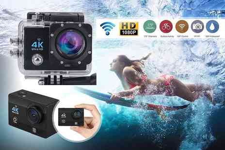 TLD Marketing - 4K 2 inch ultra HD sports action camera - Save 73%