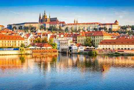 Tour Center - Two or three night 4 Star boutique Prague spa break including flights and breakfast - Save 43%