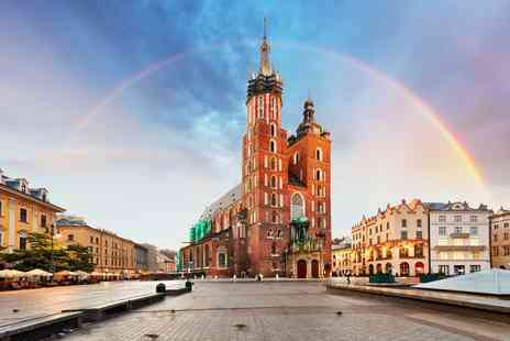 Tour Center - Two night 4 Star Krakow spa stay with breakfast, flights and Auschwitz tour option - Save 29%