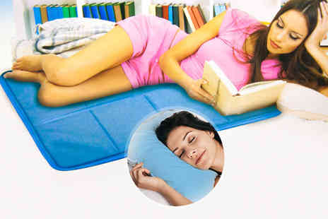 A2B Shopping - Magic cooling gel mat, with optional pillows - Save 52%