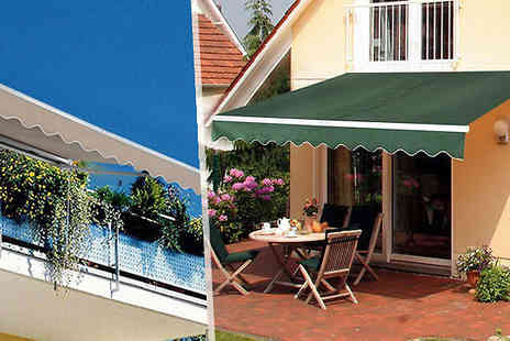 Mhstar - Large Waterproof Canopy Available in 2 Colours - Save 75%