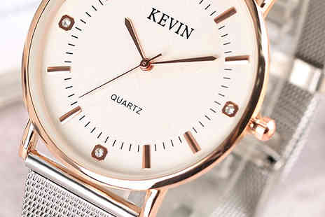 We can make it - Kevin Quartz Watch - Save 55%