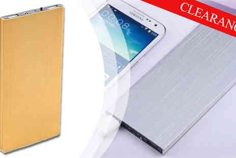 HK Betty Technology - Ultra Thin 50000mAh Power Bank in Gold - Save 86%