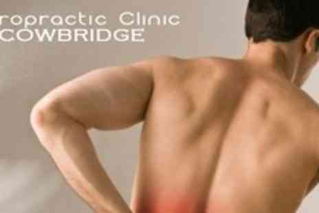 The Chiropractic Clinic - Chiropractic Consultation Plus One Follow Up Treatments - Save 67%