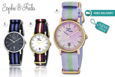 Idealdeal - Ladies Sophie & Freda watch Plus Delivery is included - Save 76%
