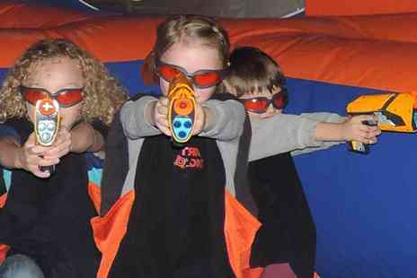 Gullivers - NERF Zone ticket choose from three locations - Save 50%