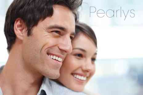 Pearlys - Teeth Whitening Session and Whitening Pen to Take Home - Save 73%