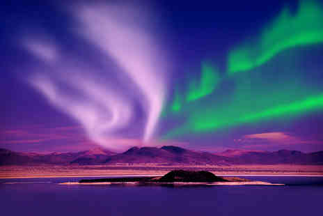 Weekender Breaks - Two night Iceland break including flights and Northern Lights Mystery Tour - Save 38%