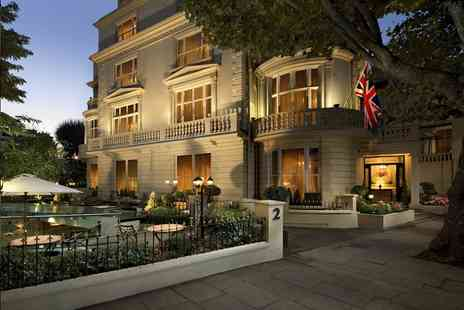 The Colonnade Hotel - Four Star overnight London classic double room stay for two with breakfast and cream tea - Save 56%