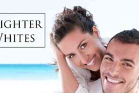 Brighter Whites - Teeth Whitening With Deep Clean For Two - Save 75%