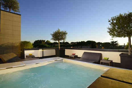 Hotel Pulitzer Roma - Four Star Stylish Design Hotel Stay For Two with Rooftop Hot Tub - Save 80%