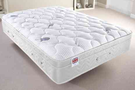 Groupon Goods Global GmbH - Pure Sleep Supreme Memory Foam Mattress With Free Delivery - Save 57%