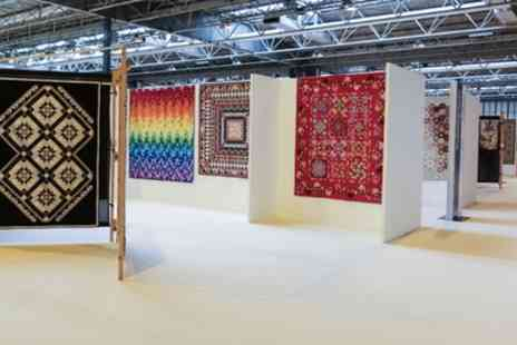 Festival of Quilts - Tickets to The Festival of Quilts on 13 August - Save 33%