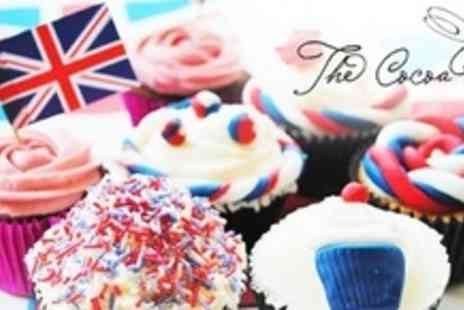 The Cocoa Box - Two Hour Jubilee Themed Cupcake Decorating Class - Save 52%