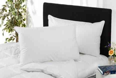 Groupon Goods Global GmbH - One or Two Downland Bedding Cashmere Touch Pillows - Save 35%
