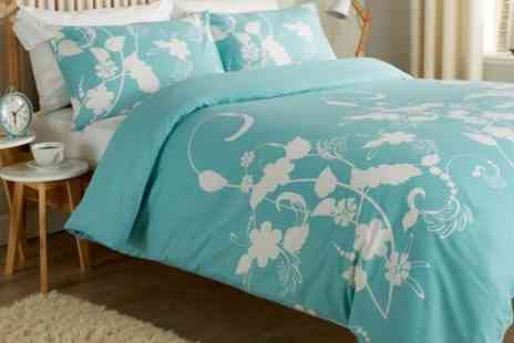 Groupon Goods Global GmbH - Floral Trail or Chelsea Duvet Cover Set in Choice of Colour - Save 63%