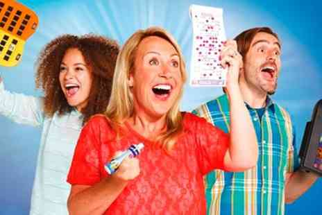 Gala Bingo - Bingo Session with Chips for Two, Four or Eight People - Save 79%