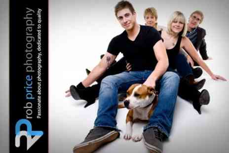 Rob Price Photography - One Hour Family, Baby or Pet Photography Shoot Plus Two Prints - Save 72%