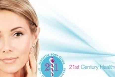 21st Century Healthcare - Ear Pinning and Earlobe Correction Treatment for One Ear - Save 55%