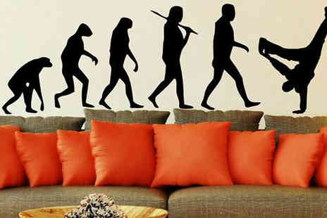 Intradify - Wall Stickers Available in 7 Designs - Save 0%