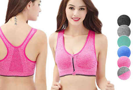 Intradify - Comfort Sports Bras 3 Pack - Save 0%