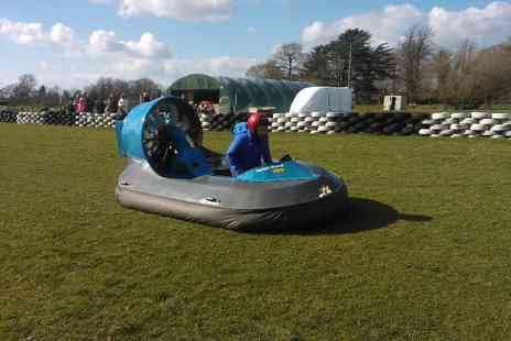 High Cross Hovercraft - 90 minute on land hovercraft experience - Save 51%