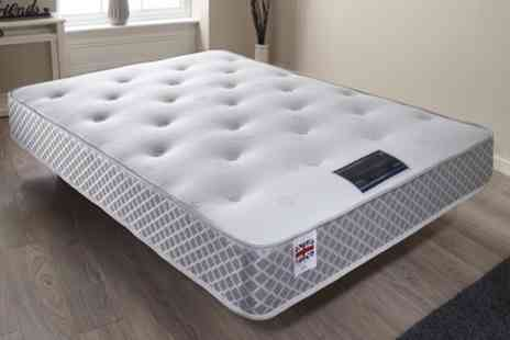 Groupon Goods Global GmbH - Crystal Orthopaedic Memory Foam Mattress With Free Delivery - Save 82%