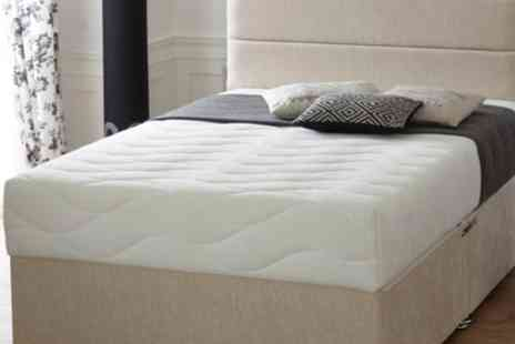 Groupon Goods Global GmbH - Cool Blue Memory Mattress With Free Delivery - Save 82%