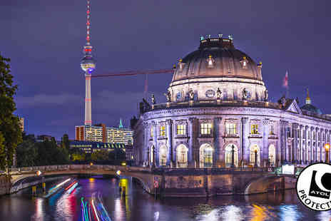 Worldwide Tours & Travel - Two to Four Night Hotel Stay With Flights & Berlin Wall Tour - Save 44%