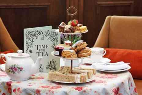 MacDonald New Blossoms Hotel - Historic Chester Hotel Afternoon Tea & Bubbly for 2 - Save 36%