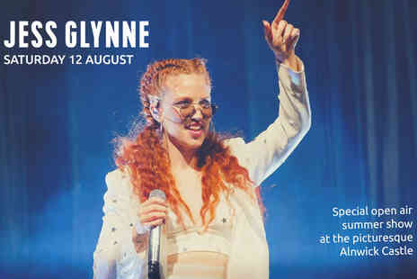 Alnwick Castle - Jess Glynne concert ticket including a parking and drinks token on 12th August - Save 22%