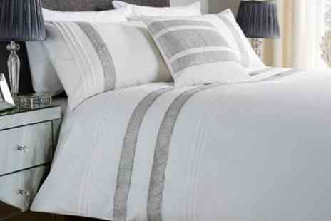 Groupon Goods Global GmbH - Embellished Duvet Cover Sets in Choice of Design - Save 60%