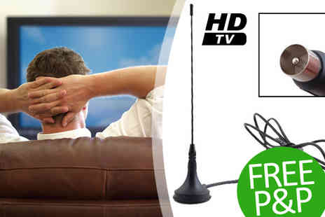 Gagala - 5dBi Digital DVB T TV Freeview HDTV Antenna - Save 86%