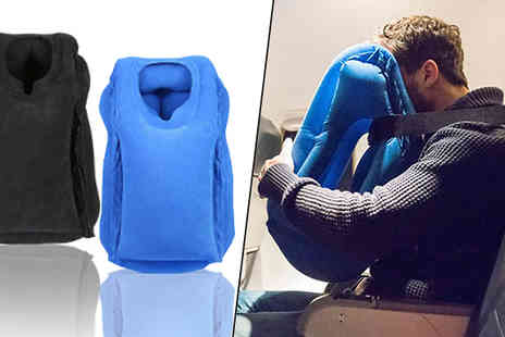 Goods Direct - Inflatable Travel Pillows - Save 63%